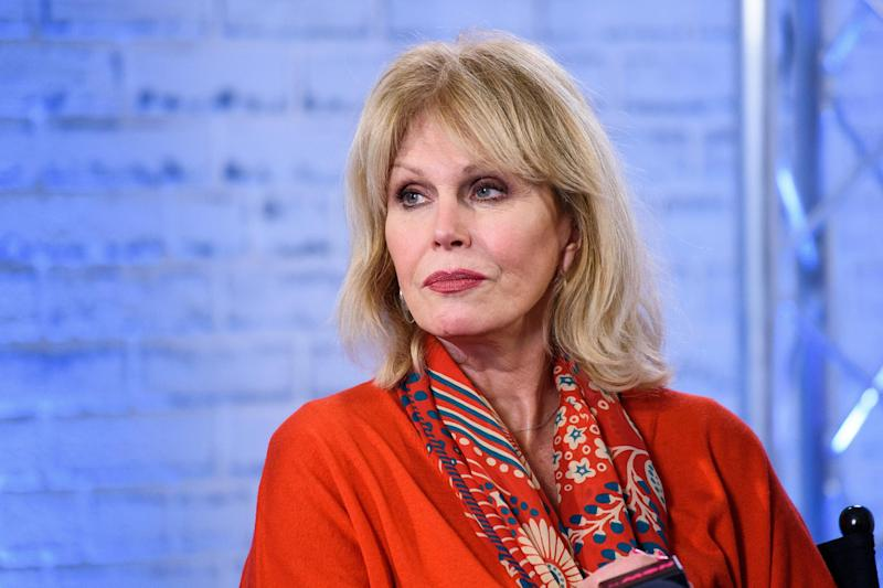Full of sympathy: Joanna Lumley condemned the