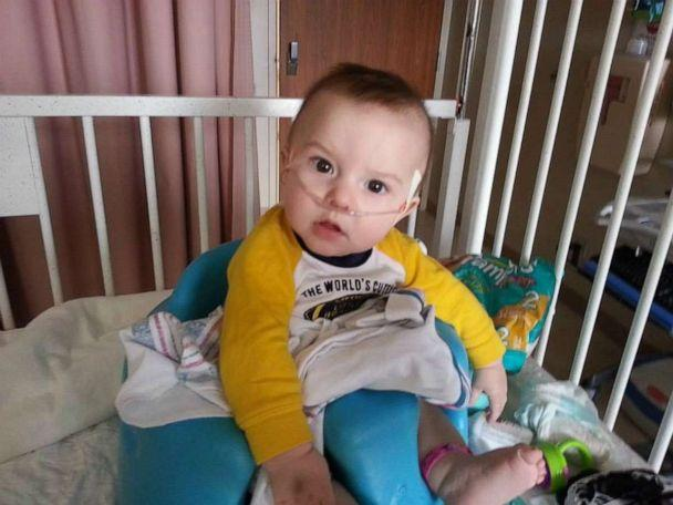 PHOTO: Cohen Bramlee had health issues since four months old. (Carrie Bramlee)