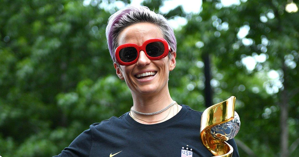 All the Best Photos from the Ticker Tape Parade Honoring the U.S. Women's National Soccer Team
