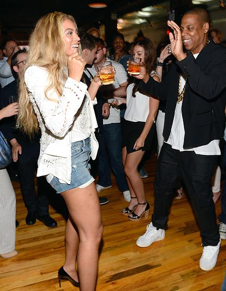 Beyonce, Jay-Z Dance Together at Star-Studded Release Party for Magna Carta Holy Grail