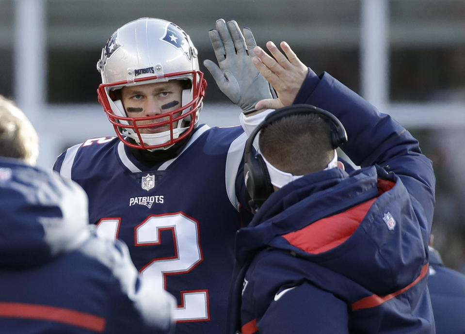 Tom Brady in the NFL playoffs is nothing less than money. (AP Photo/Elise Amendola)