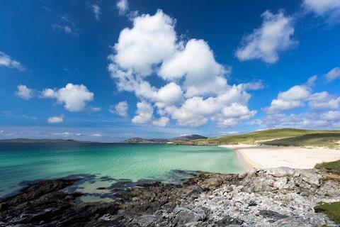 Greece? Nope. Luskentyre in the Outer Hebrides - Credit: Copyright Anyka Photography - www.anyka.be/Anneke Schram