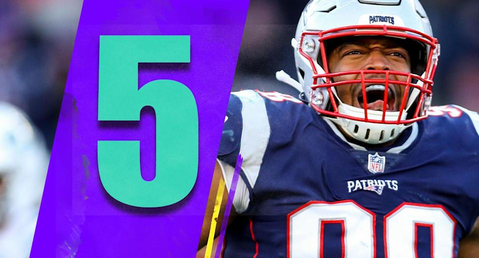 <p>Maybe the Patriots' 38-3 win on Sunday was a product of the Jets checking out early. But that was as good as the Patriots have looked all season. (Trey Flowers) </p>