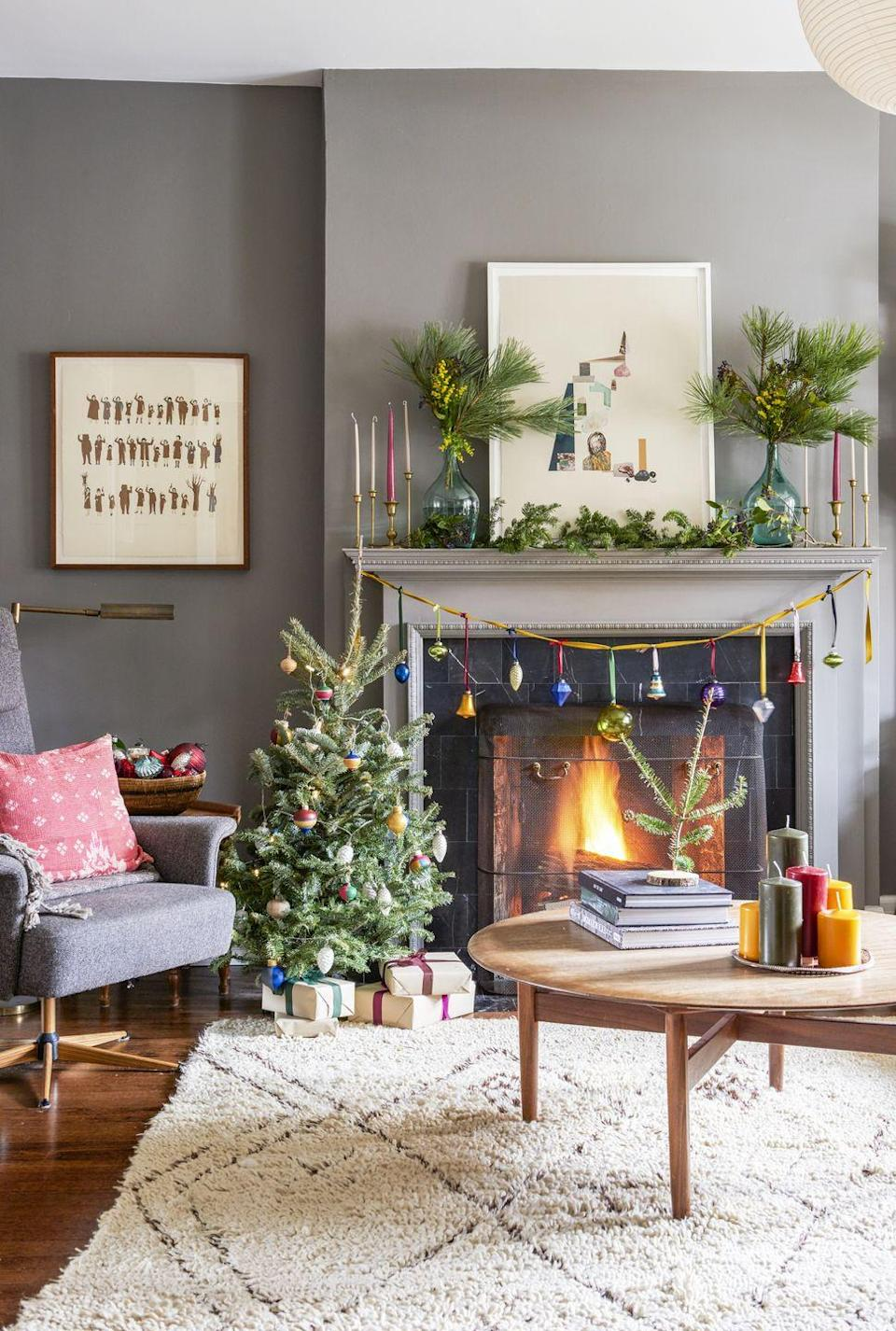 """<p><span class=""""redactor-invisible-space"""">Dress this pint-size version with just as much garland, ribbon, and ornaments as you'd like.</span><br></p>"""