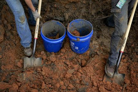 A team of anthropologists from the University of South Florida are exhuming suspected graves at the Boot Hill cemetery at the now closed Arthur G. Dozier School for Boys in Marianna