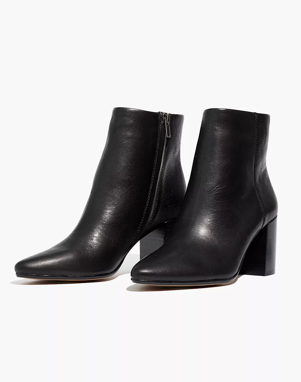 "<br><br><strong>Madewell</strong> The Fiona Boot, $, available at <a href=""https://go.skimresources.com/?id=30283X879131&url=https%3A%2F%2Ffave.co%2F2J2ooRH"" rel=""nofollow noopener"" target=""_blank"" data-ylk=""slk:Madewell"" class=""link rapid-noclick-resp"">Madewell</a>"
