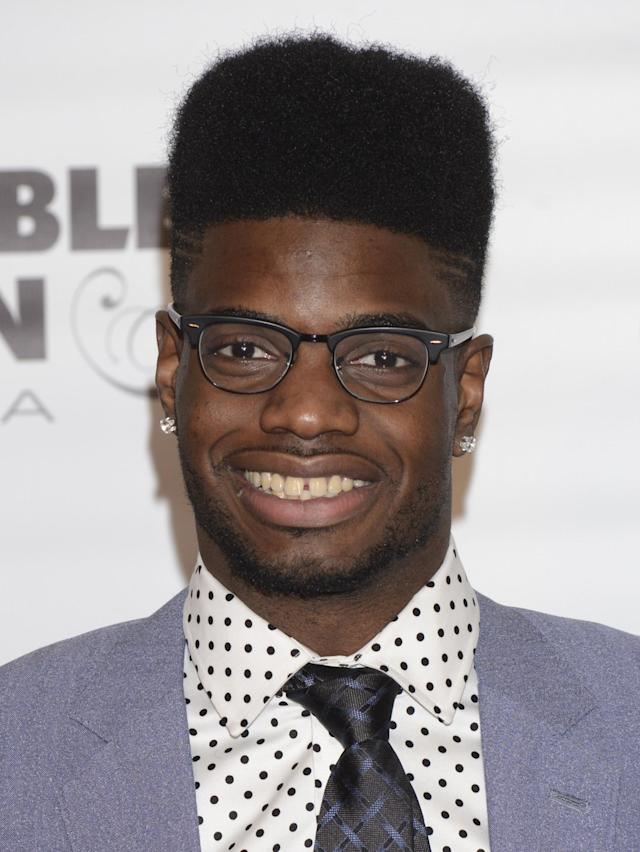 LOUISVILLE, KY - MAY 02: Basketball player Nerlens Noel attends the Barnstable Brown Kentucky Derby Eve Gala at Barnstable Brown House on May 2, 2014 in Louisville, Kentucky. (Photo by Vivien Killilea/Getty Images)