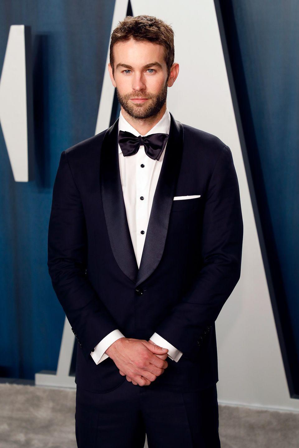 """<p>Nowadays, Chace is still out there acting. He's starred in a bunch of different shows like <em>Blood & Oil</em>, <em>Casual</em>, and <em>The Boys.</em> (Yes, <a href=""""https://www.womenshealthmag.com/life/a28721080/chace-crawford-the-boys-calendar-bodysuit/"""" rel=""""nofollow noopener"""" target=""""_blank"""" data-ylk=""""slk:that was all of him on the infamous Boys poster."""" class=""""link rapid-noclick-resp"""">that was all of him on the infamous <em>Boys </em>poster.</a>) He appeared in the 2020 thriller <em>Inheritance </em>alongside Lily Collins. You can spot him in the upcoming movie <em>Riptide</em> next.</p>"""