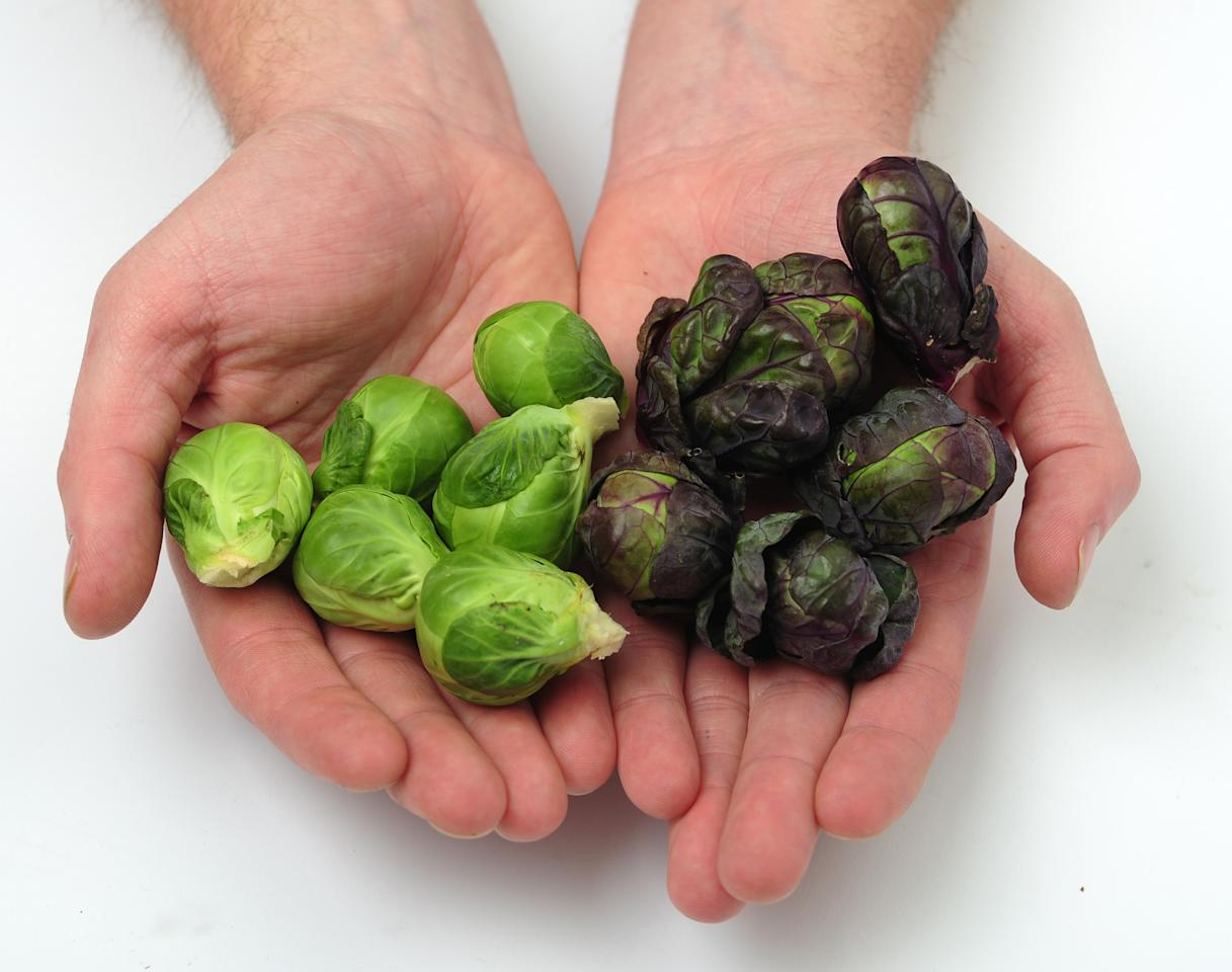<p>Up 8.4%: Love them or loathe them, Brussels sprouts are as synonymous with Christmas dinner as the turkey. This year, sprouts are up 8.4%, says Kantar, possibly as they become a new trendy food favourite. (Mark Clifford/Barcroft Media/Getty Images) </p>