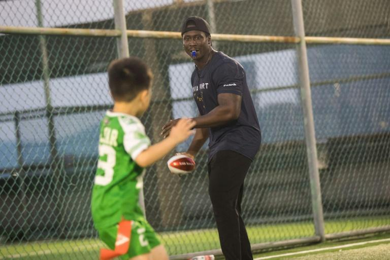 According to the NFL, more than 50,000 children under-12 in China are taking part in organised American football