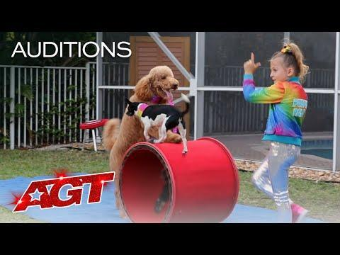 "<p>Cute pups doing adorable things and performing incredible tricks? Yes please! Even with the challenges of auditioning from home, Alexis managed to pull off a stunning routine, earning herself and her furry friends a chance at winning the competition this year.</p><p><a href=""https://www.youtube.com/watch?v=YZKd1X6dNR8&feature=youtu.be"" rel=""nofollow noopener"" target=""_blank"" data-ylk=""slk:See the original post on Youtube"" class=""link rapid-noclick-resp"">See the original post on Youtube</a></p>"