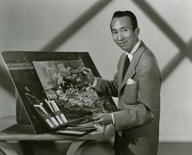 Portrait of Tyrus Wong