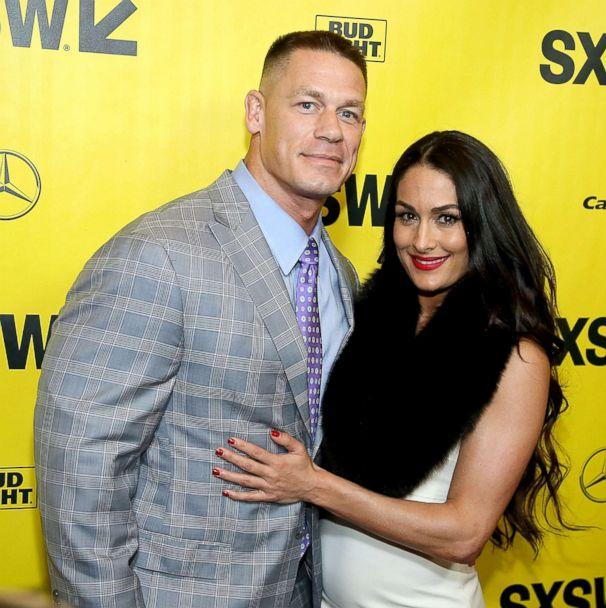 PHOTO: John Cena and Nikki Bella attend the premiere of Blockers at the Paramount Theatre, March 10, 2018, in Austin, Texas. (Gary Miller/Getty Images, FILE)