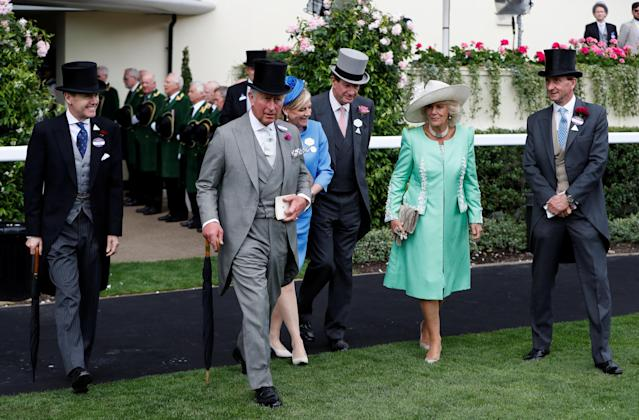 Horse Racing - Royal Ascot - Ascot Racecourse, Ascot, Britain - June 20, 2018 Britain's Prince Charles and Camilla, the Duchess of Cornwall Action Images via Reuters/Paul Childs