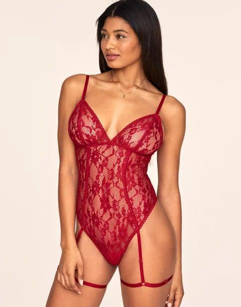 <p>The rich red hue of this <span>Adore Me Clarisse Unlined Set</span> ($55) is ideal for Valentine's Day.</p>