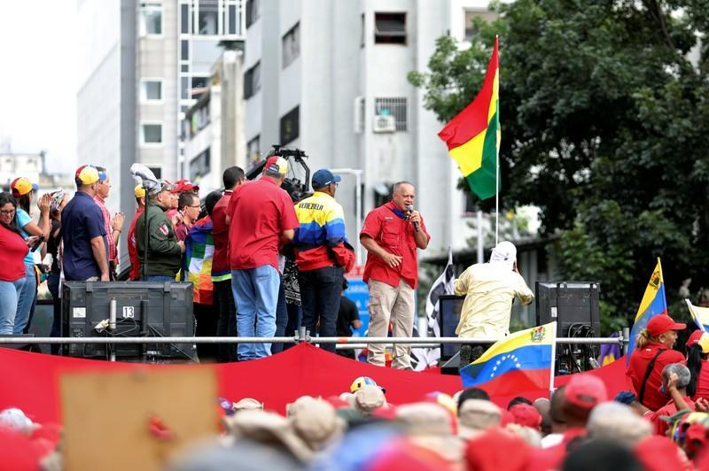 Pro-government rally in Caracas