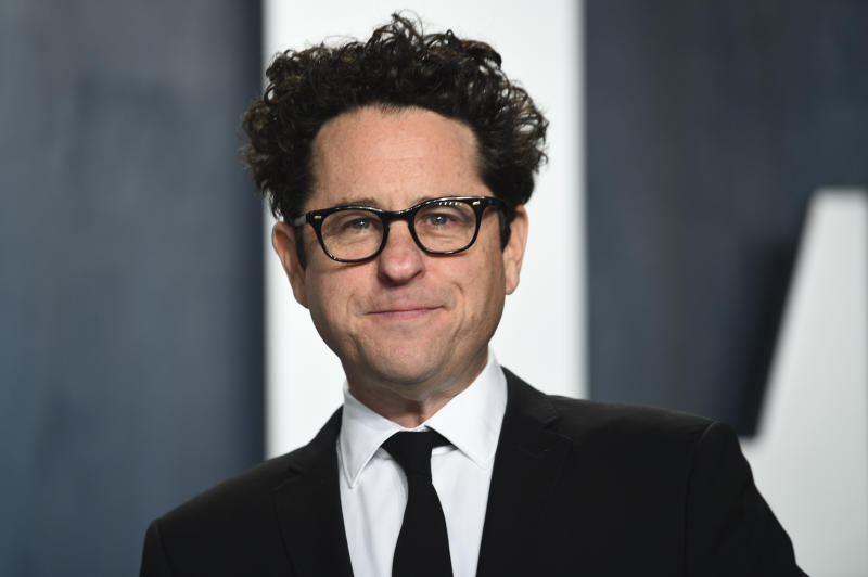 J.J. Abrams arrives at the Vanity Fair Oscar Party on Sunday, Feb. 9, 2020, in Beverly Hills, Calif. (Photo by Evan Agostini/Invision/AP)