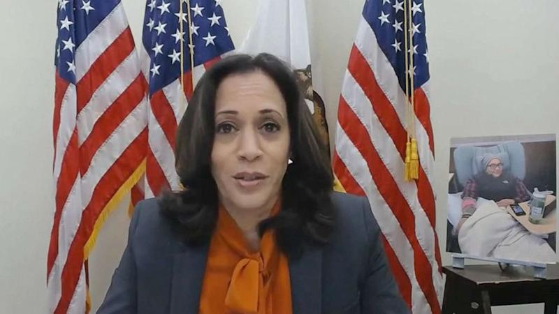 Kamala Harris tests negative for COVID-19 after 2 associated with campaign test positive