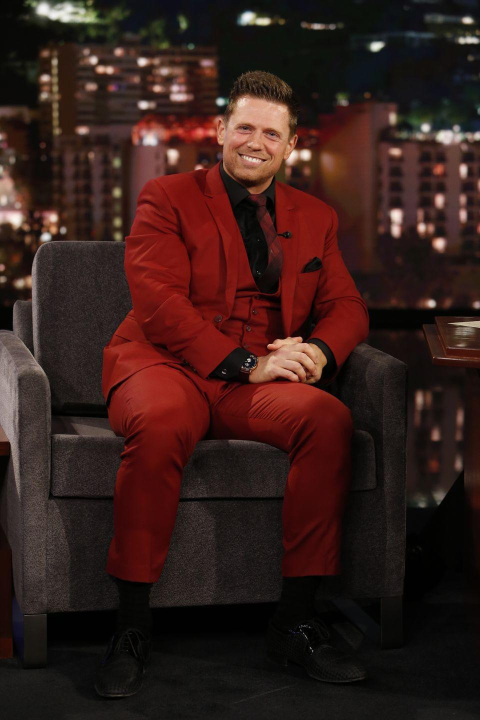 """<p>After gaining fame on <em>The Real World</em>, Mizanin took his new nickname and turned it into a professional wrestling career. He is currently signed to the WWE, where he performs for the SmackDown series. He's married to another professional wrestler, Maryse Ouellet, who has <a href=""""https://www.dailymotion.com/video/x75fpii"""" rel=""""nofollow noopener"""" target=""""_blank"""" data-ylk=""""slk:never seen his MTV episodes"""" class=""""link rapid-noclick-resp"""">never seen his MTV episodes</a>.</p>"""