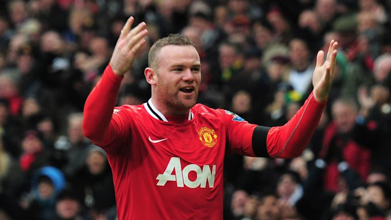 Wayne Rooney Manchester United Liverpool Feb 2012