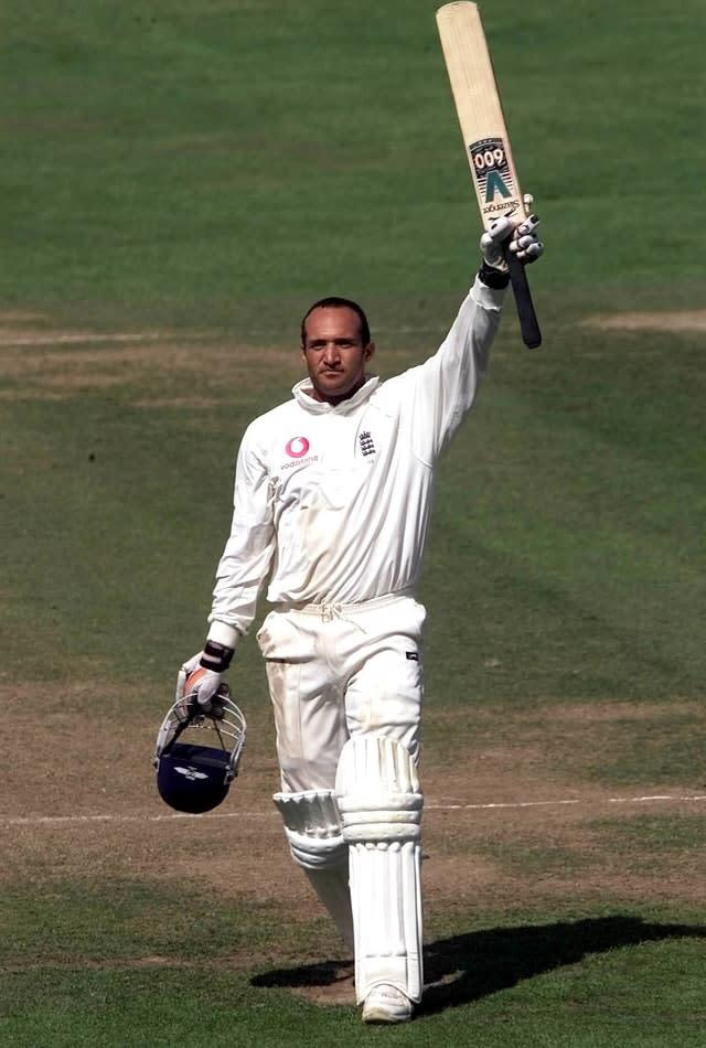 Mark Butcher led England's chase in 2001 (Gareth Copley/PA)