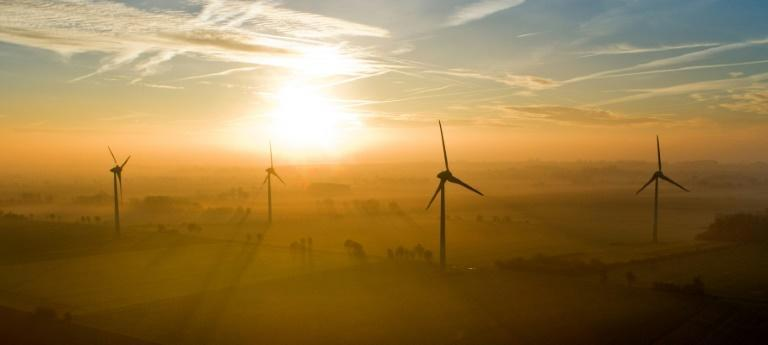 Wind and solar power have a key role in the future energy mix (AFP Photo/Julian Stratenschulte)