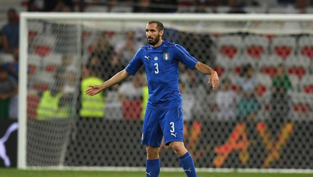 <p>The Juventus centre-back has been a stalwart at the Old Lady since he broke into the first team in 2005-06. </p> <br><p>He has won the Serie A title six times and has won three Coppa Italias. He is however most famous for being involved in the Luis Suarez biting scandal at the 2014 World Cup.</p>