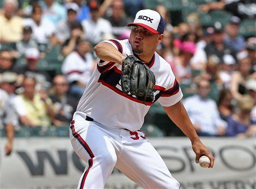 Rios, Flowers homer as White Sox beat Oakland 4-2