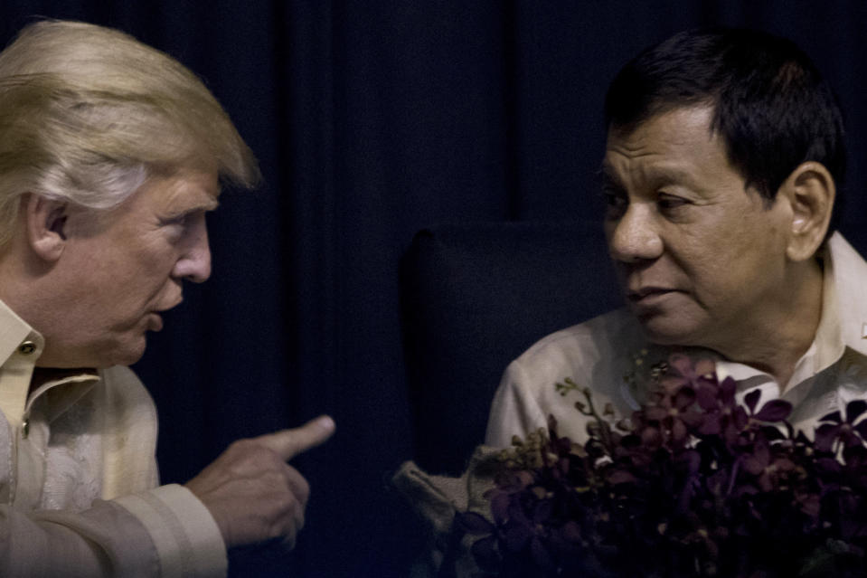 <em>Duterte has carried out a deadly war on drug dealers in the Philippines (AP)</em>