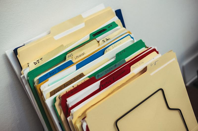 Files in Kushner's office represent the broad set of issues he works on.   Christopher Lee for TIME