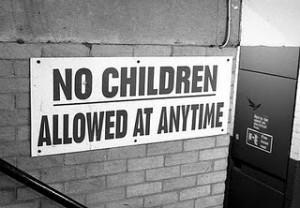 Is the No Kids Allowed movement getting out of control?