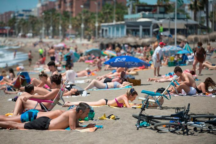 The beaches are popular tourist hotspots in the holiday season: AFP via Getty Images