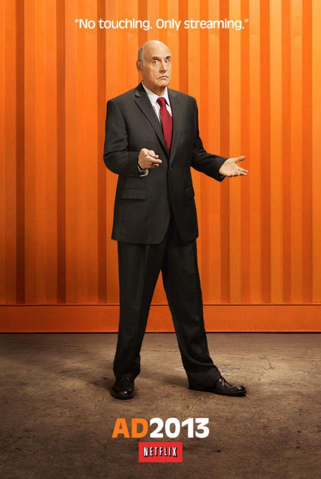 "Jeffrey Tambor as George Bluth Sr. on ""Arrested Development"" Season 4."