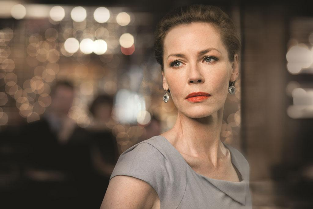 "Connie Nielsen as Meredith Kane in season 2 of ""Boss."""