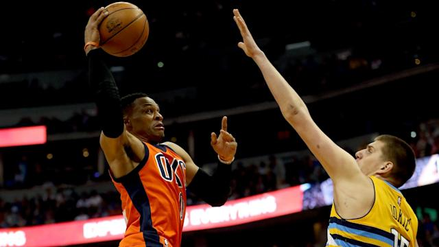 Oscar Robertson expressed his admiration for Russell Westbrook after surrendering the NBA's hallowed triple-double record Sunday.