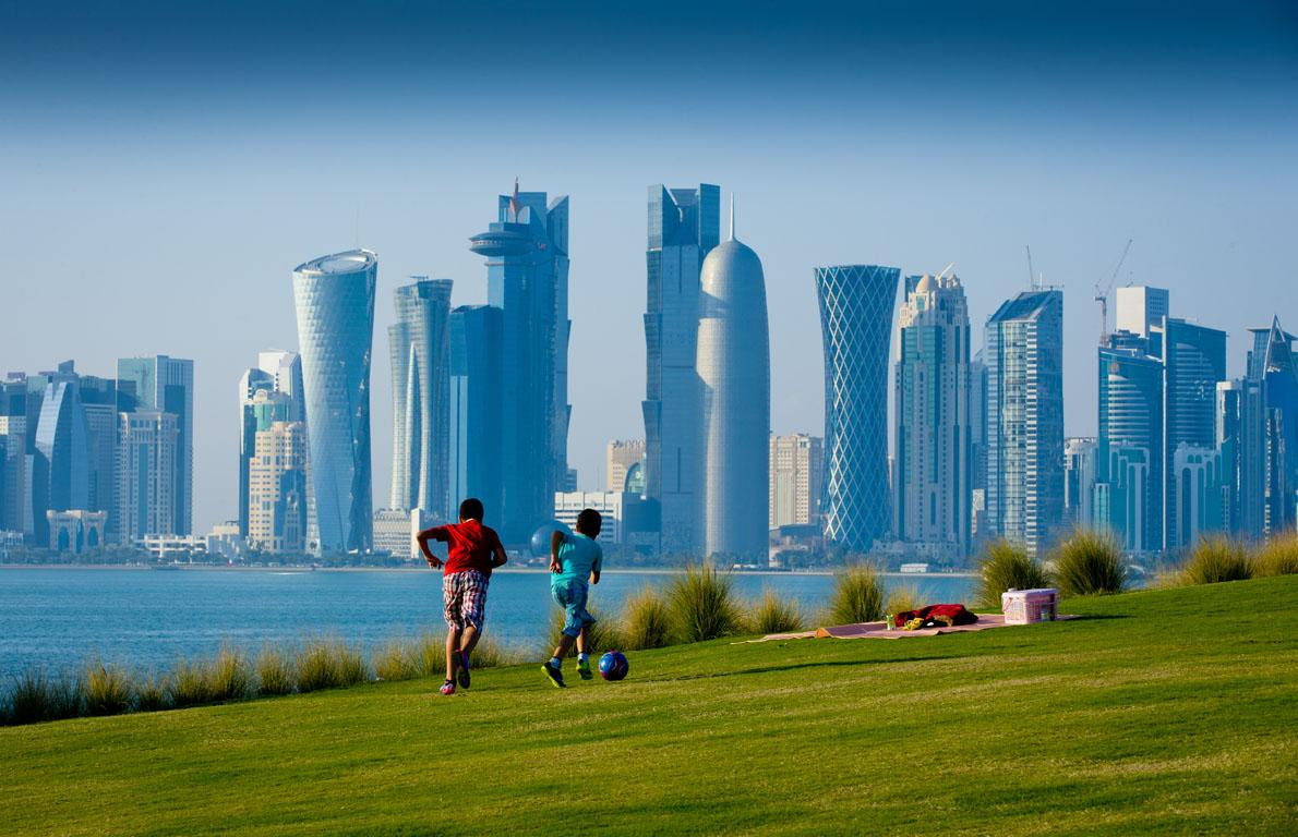 "<p>As recently as 2012, <a rel=""nofollow"" href=""http://www.thedailymeal.com/free-tagging-cuisine/qatar""><strong>Qatar</strong></a> was ranked as the fattest nation in the world, and it's still very high on the list. 77.1 percent of the population is currently listed as overweight and 17 percent <a rel=""nofollow"" href=""http://www.thedailymeal.com/free-tagging-cuisine/type-2-diabetes""><strong>suffer from diabetes</strong></a> — with the average onset age dropping rapidly. The cause is obvious; while Qatar was becoming the fattest nation, it was (and still is) also the richest nation, thanks to its enormous oil reserves. However, for a country that's smaller than <a rel=""nofollow"" href=""http://www.thedailymeal.com/free-tagging-cuisine/connecticut""><strong>Connecticut</strong></a> but has a million more people, work is hard to come by, and most people lead sedentary lifestyles. This is compounded by the lack of pedestrian-friendly cities and reliance on cars for transportation, and also the fact that fast food has made its way into Qatar, and is adored by the locals. Since food is often consumed communally, portion control is also a huge factor in the country's current health crisis.</p><p><a rel=""nofollow"" href=""http://www.thedailymeal.com/america-s-unhealthiest-fast-foods""><strong>Click here for America's unhealthiest fast foods.</strong></a></p>"