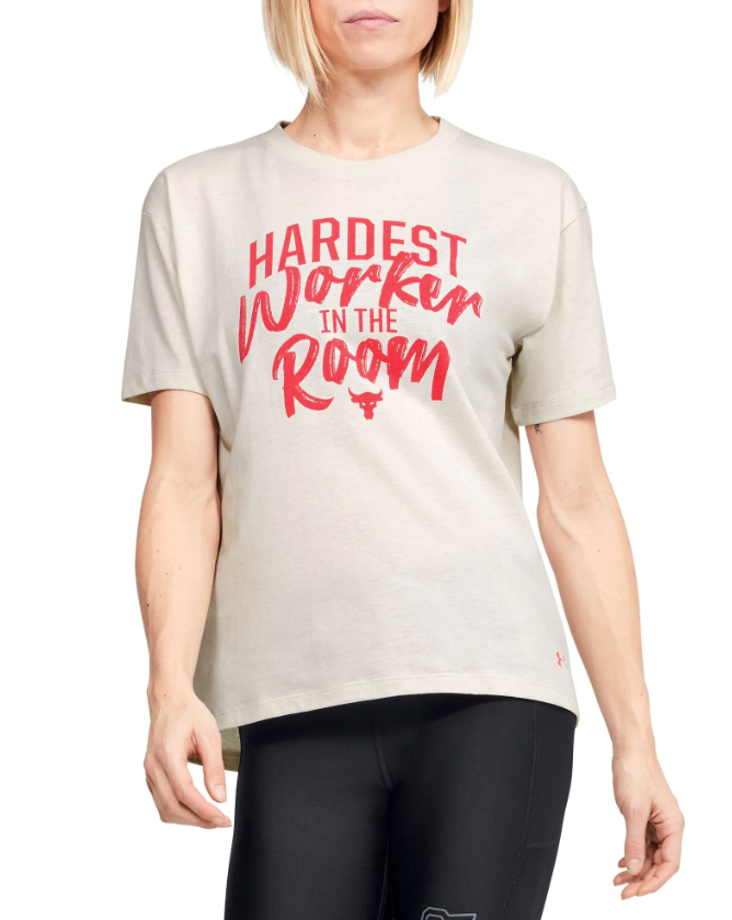 Under Armour Women's Project Rock Graphic T-Shirt