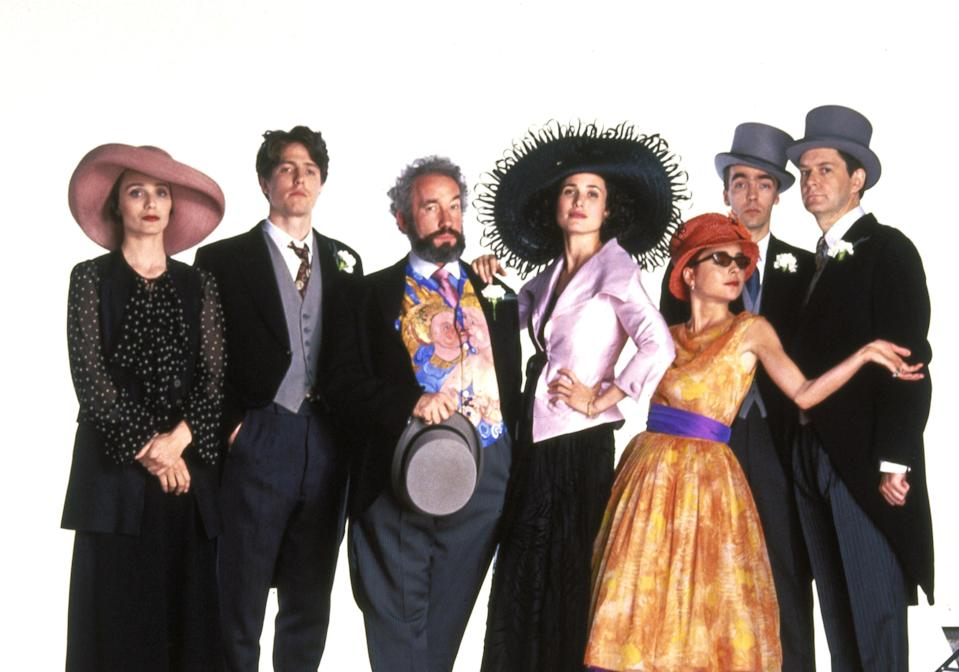 'Four Weddings And A Funeral' was originally released in 1994