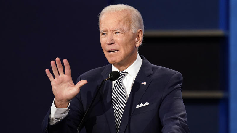 Joe Biden drew praise for being candid and forthcoming about his son Hunter's struggle with addiction during Tuesday's presidential debate. (Patrick Semansky/AP)