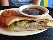 """<p>With 40 tips and reviews. Thanh Carroll writes, """"Get the basic Cuban sandwich and the beef, jalapeño, cheese empanada! Perfect."""" <a href=""""https://foursquare.com/v/havana-restaurant/4b0ad158f964a520562823e3"""" rel=""""nofollow noopener"""" target=""""_blank"""" data-ylk=""""slk:3979 Buford Highway N.E., Suite 108"""" class=""""link rapid-noclick-resp"""">3979 Buford Highway N.E., Suite 108</a></p>"""