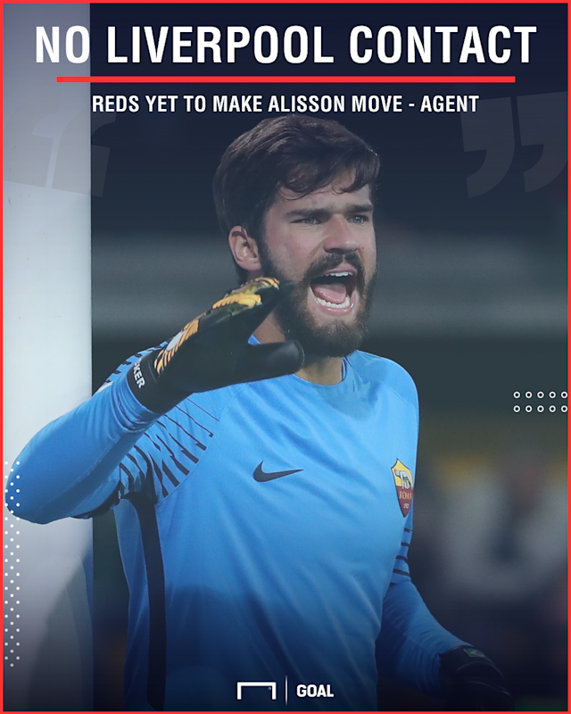 The Brazil international goalkeeper is being linked with a summer move elsewhere, but his focus is locked on Serie A and the World Cup for now