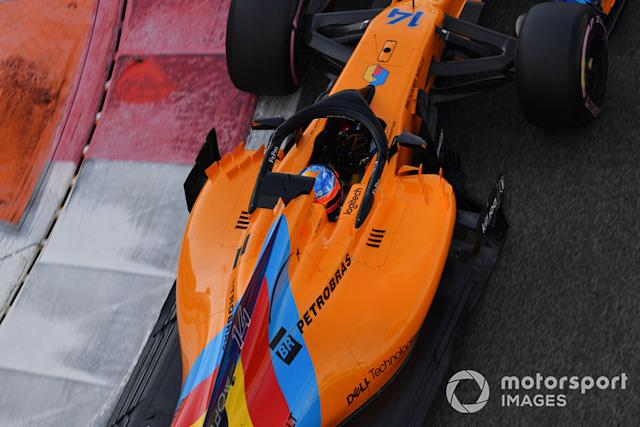 """Fernando Alonso, McLaren MCL33 <span class=""""copyright"""">Jerry Andre / Motorsport Images</span>"""