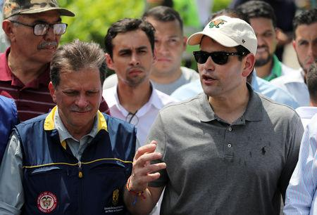 Marco Rubio warns Venezuelan soldiers to let aid enter