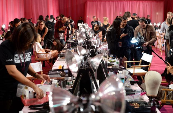 Exclusive! Make Up Artist Dick Page Reveals How To Recreate The Victoria's Secret Show Look