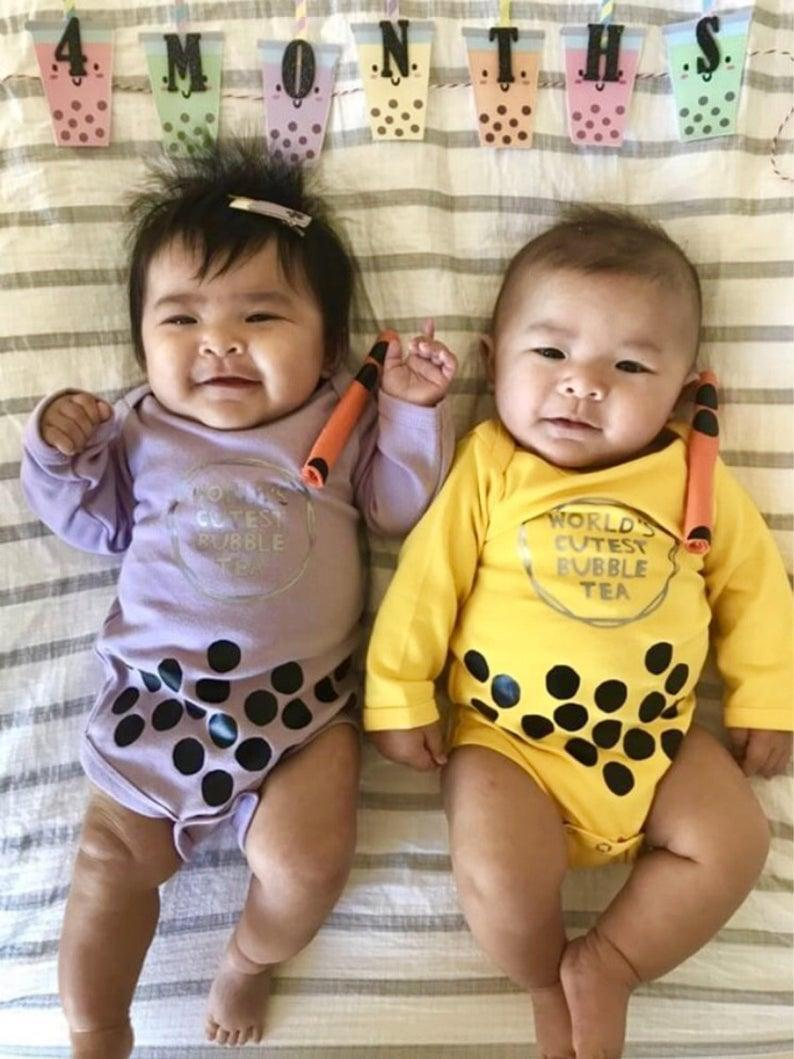 <p>The <span>Bubble Tea Baby Outfit </span>($40) is a guaranteed hit.</p>