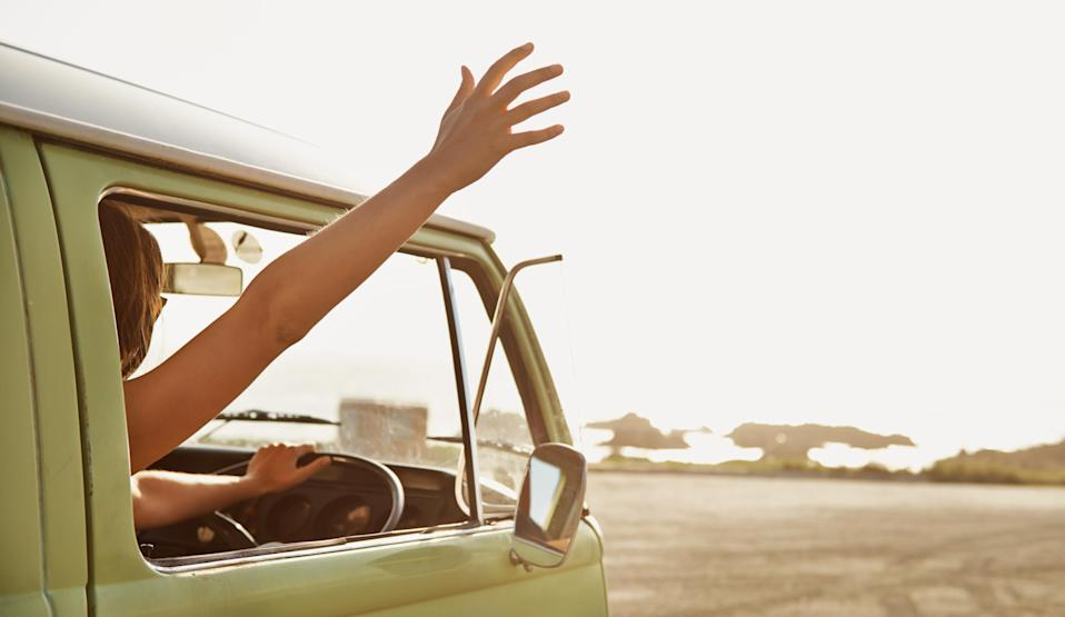 Arms out of a vehicle's window is a big no no, according to state laws. Source: Getty, file.