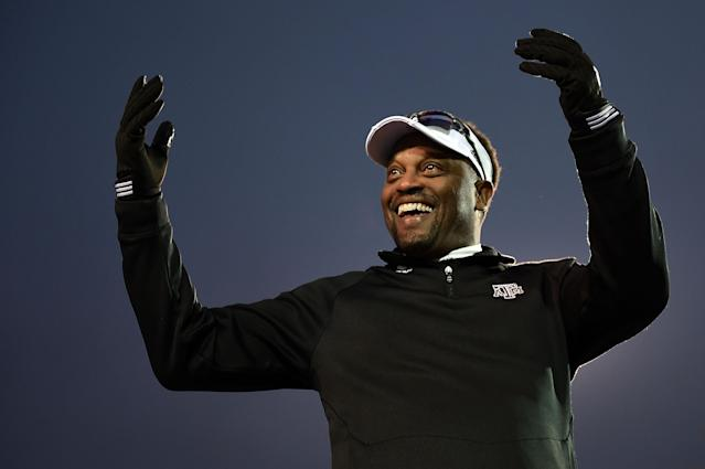 Kevin Sumlin actually fired the pool boy who overheard him on the phone