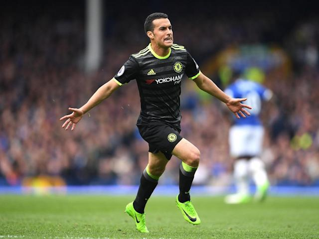 Pedro's superb goal sent Chelsea on their way to victory (Getty)