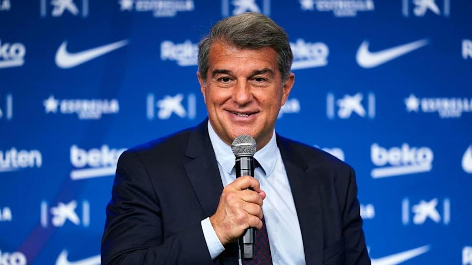Joan Laporta, FC Barcelona   Quality Sport Images/Getty Images