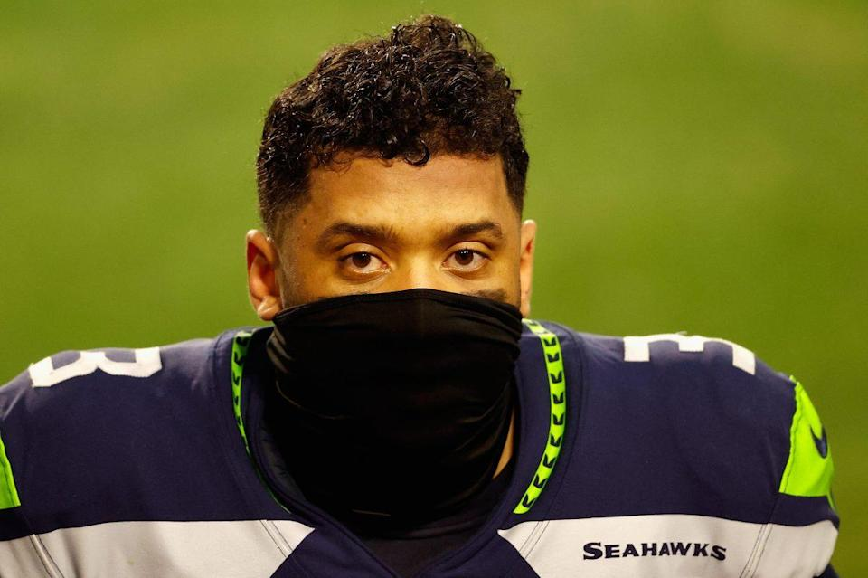 Russell Wilson of Seattle Seahawks